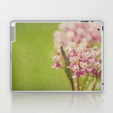 Joy in the Little Things Laptop & iPad Skin