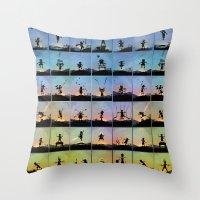 superhero Throw Pillows featuring Superhero Kids by Andy Fairhurst Art