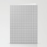 grid Stationery Cards featuring Grid by Georgiana Paraschiv