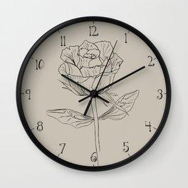I. Weird plant Wall Clock