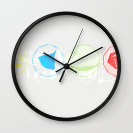 Keep it ugly Wall Clock