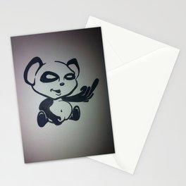 Panda With Attitude Stationery Cards