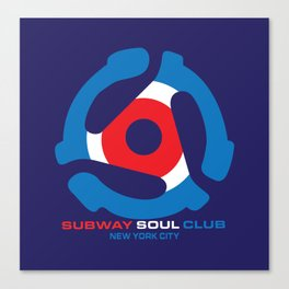 Subway Soul Adapter Canvas Print
