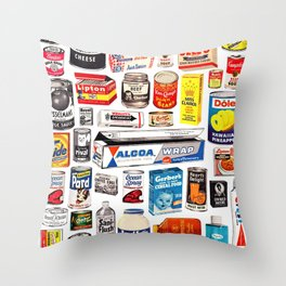 Big Agra Seeds Are Sown Throw Pillow