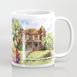 Queen Anne Mansion Coffee Mug
