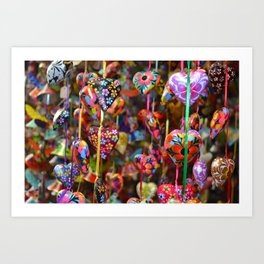 Colors of Mexico Art Print