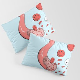 Cute blood cells Pillow Sham