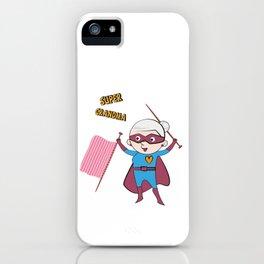 Super Grandma 2 iPhone Case