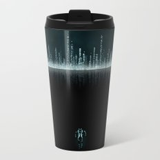 TRON CITY Metal Travel Mug
