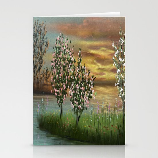 Flowering Stationery Cards