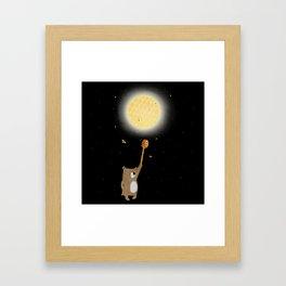 Honey Moon Bear Hunt Framed Art Print