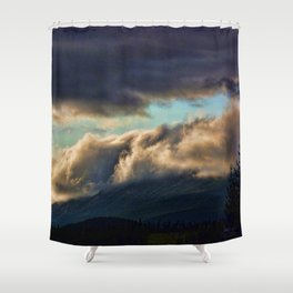 A SEA OF CLOUDS Shower Curtain