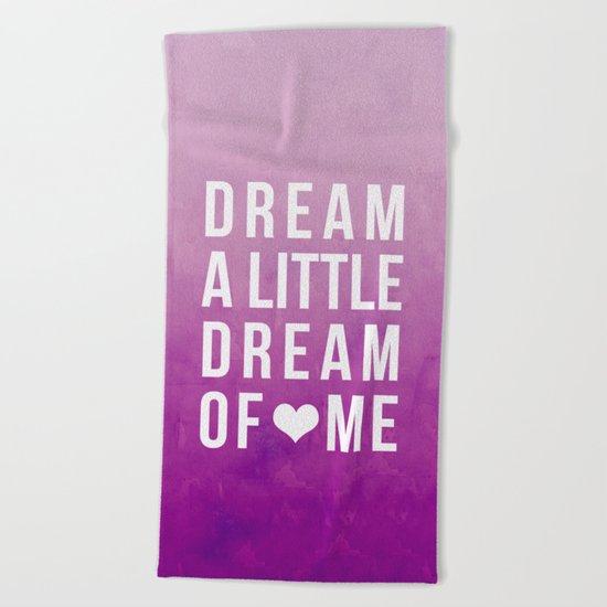 Dream II Beach Towel