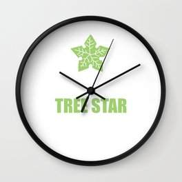 If She Doesn't Know Tree Star Funny T-shirt Wall Clock