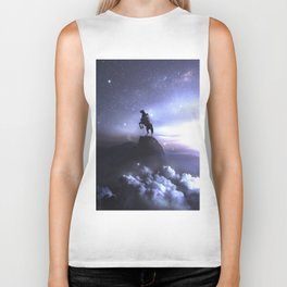 Whisper to the dark what you're up to ... Biker Tank