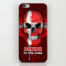 To The Core Collection: Denmark iPhone Skin