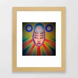 Tres Brujas Framed Art Print