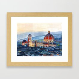 Firenze Cathedral Framed Art Print