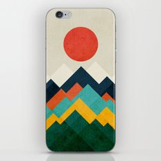 The hills are alive iPhone Skin