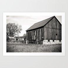 Rustic Rural Art Print