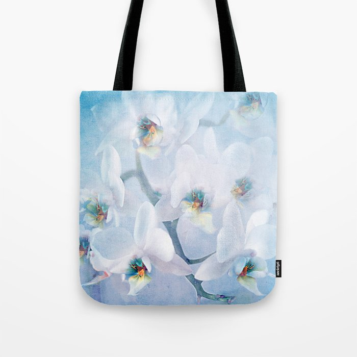 The mystery of orchid(snowy) Tote Bag