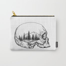 SKULL/FOREST Carry-All Pouch