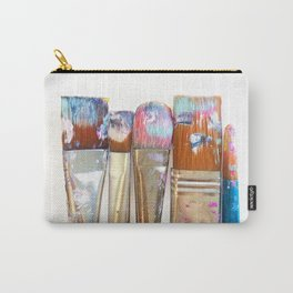 Five Paintbrushes Minimalist Photography Carry-All Pouch