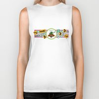 muppet Biker Tanks featuring Muppet*Vision 3D Billboard by Rob Yeo Design