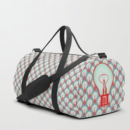 Bulbuous CHERRY MINT Duffle Bag