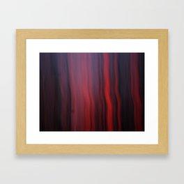 Falling Ash Framed Art Print