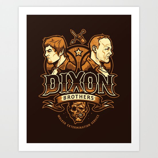 Dixon Brothers Walker Extermination Art Print