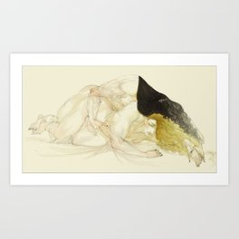 Salvador and Raphael Art Print