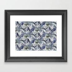 Birds Pattern Framed Art Print