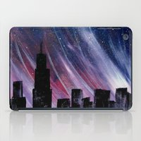 chicago bulls iPad Cases featuring Chicago by Tesseract