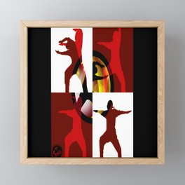 Mgyver 3 Framed Mini Art Print