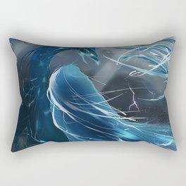 Halcyon rising Rectangular Pillow