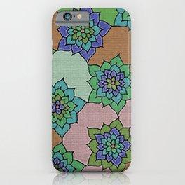 zakiaz autumn lotus iPhone Case