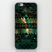 gatsby iPhone & iPod Skins featuring Gatsby Dust Tribal by Caleb Troy
