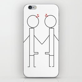 Lover Boy iPhone Skin