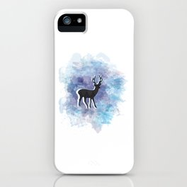 Somewhere In The Snow iPhone Case