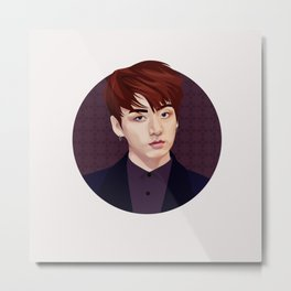 Jungkook Metal Print