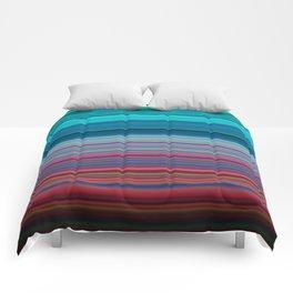 Blurry Saturn Stripes Comforters