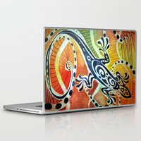 lizard Laptop & iPad Skins featuring Lizard by Viktor Macháček