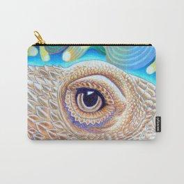 Dragon Star, Bearded Dragon Lizard Art Carry-All Pouch