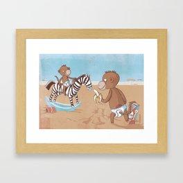 Apers Framed Art Print