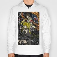 death note Hoodies featuring Death Note by SpontaneousOD
