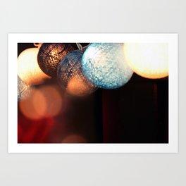 Fairy Lights.  Art Print