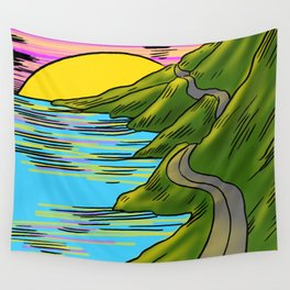Sunset Wall Tapestry
