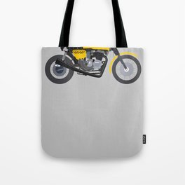Cafe Bike Tote Bag