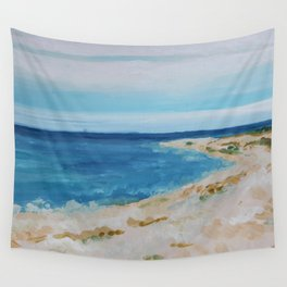 By the Sea Side Wall Tapestry
